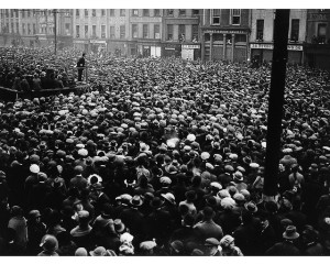 Michael Collins at Rally